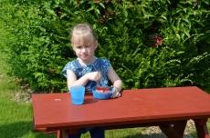Kinder Picknickbank