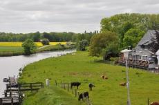 Die Medem, Fluss im Nordseebad Otterndorf